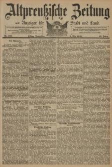 Altpreussische Zeitung, Nr. 106 Donnerstag 8 Mai 1890, 42. Jahrgang