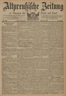 Altpreussische Zeitung, Nr. 108 Sonnabend 10 Mai 1890, 42. Jahrgang