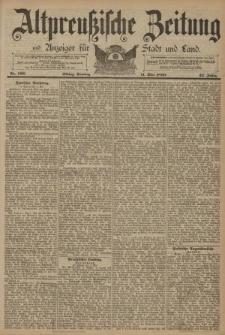 Altpreussische Zeitung, Nr. 109 Sonntag 11 Mai 1890, 42. Jahrgang