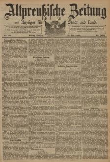 Altpreussische Zeitung, Nr. 110 Dienstag 13 Mai 1890, 42. Jahrgang