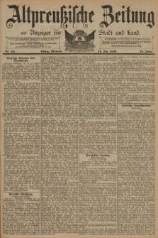 Altpreussische Zeitung, Nr. 111 Mittwoch 14 Mai 1890, 42. Jahrgang