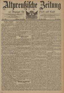 Altpreussische Zeitung, Nr. 112 Donnerstag 15 Mai 1890, 42. Jahrgang