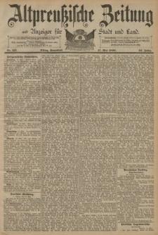 Altpreussische Zeitung, Nr. 113 Sonnabend 17 Mai 1890, 42. Jahrgang