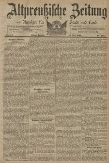 Altpreussische Zeitung, Nr. 114 Sonntag 18 Mai 1890, 42. Jahrgang