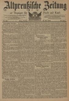 Altpreussische Zeitung, Nr. 115 Dienstag 20 Mai 1890, 42. Jahrgang
