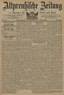 Altpreussische Zeitung, Nr. 116 Mittwoch 21 Mai 1890, 42. Jahrgang