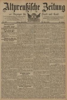 Altpreussische Zeitung, Nr. 117 Donnerstag 22 Mai 1890, 42. Jahrgang