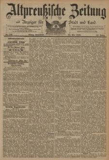 Altpreussische Zeitung, Nr. 119 Sonnabend 24 Mai 1890, 42. Jahrgang