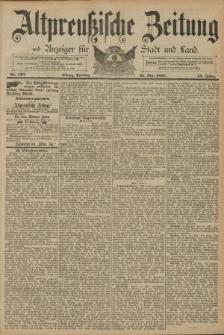 Altpreussische Zeitung, Nr. 120 Sonntag 25 Mai 1890, 42. Jahrgang