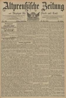 Altpreussische Zeitung, Nr. 122 Donnerstag 29 Mai 1890, 42. Jahrgang