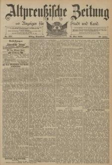 Altpreussische Zeitung, Nr. 124 Sonnabend 31 Mai 1890, 42. Jahrgang