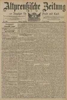 Altpreussische Zeitung, Nr. 125 Sonntag 1 Juni 1890, 42. Jahrgang