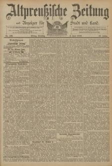 Altpreussische Zeitung, Nr. 126 Dienstag 3 Juni 1890, 42. Jahrgang