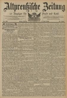 Altpreussische Zeitung, Nr. 129 Freitag 06 Juni 1890, 42. Jahrgang