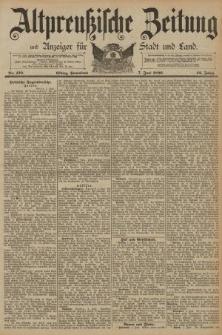 Altpreussische Zeitung, Nr. 130 Sonnabend 7 Juni 1890, 42. Jahrgang