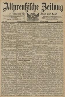 Altpreussische Zeitung, Nr. 132 Dienstag 10 Juni 1890, 42. Jahrgang