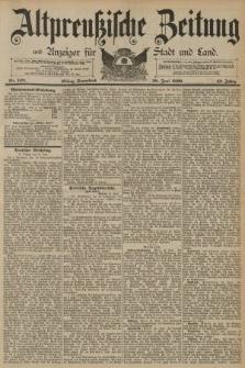 Altpreussische Zeitung, Nr. 148 Sonnabend 28 Juni 1890, 42. Jahrgang