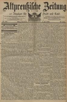 Altpreussische Zeitung, Nr. 154 Sonnabend 5 Juli 1890, 42. Jahrgang