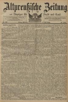 Altpreussische Zeitung, Nr. 157 Mittwoch 9 Juli 1890, 42. Jahrgang