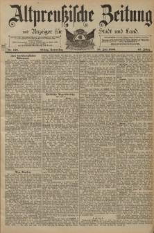 Altpreussische Zeitung, Nr. 158 Donnerstag 10 Juli 1890, 42. Jahrgang