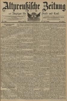 Altpreussische Zeitung, Nr. 165 Freitag 18 Juli 1890, 42. Jahrgang