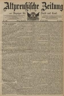 Altpreussische Zeitung, Nr. 166 Sonnabend 19 Juli 1890, 42. Jahrgang