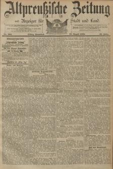 Altpreussische Zeitung, Nr. 202 Sonnabend 30 August 1890, 42. Jahrgang