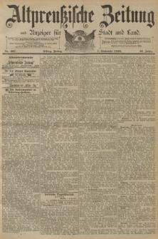 Altpreussische Zeitung, Nr. 207 Freitag 5 September 1890, 42. Jahrgang