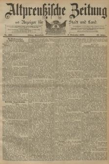 Altpreussische Zeitung, Nr. 208 Sonnabend 6 September 1890, 42. Jahrgang