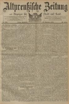 Altpreussische Zeitung, Nr. 214 Sonnabend 13 September 1890, 42. Jahrgang