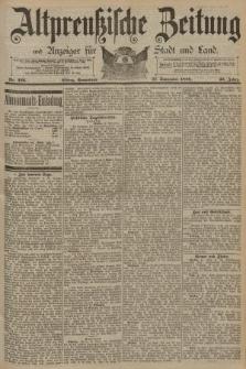 Altpreussische Zeitung, Nr. 226 Sonnabend 27 September 1890, 42. Jahrgang