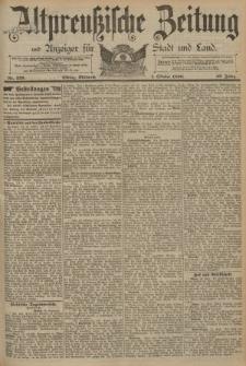 Altpreussische Zeitung, Nr. 229 Mittwoch 1 Oktober 1890, 42. Jahrgang
