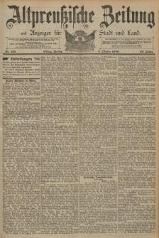 Altpreussische Zeitung, Nr. 231 Freitag 3 Oktober 1890, 42. Jahrgang