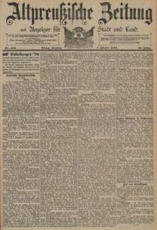Altpreussische Zeitung, Nr. 234 Dienstag 7 Oktober 1890, 42. Jahrgang