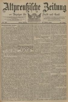 Altpreussische Zeitung, Nr. 237 Freitag 10 Oktober 1890, 42. Jahrgang