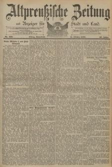 Altpreussische Zeitung, Nr. 238 Sonnabend 11 Oktober 1890, 42. Jahrgang