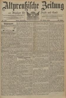 Altpreussische Zeitung, Nr. 248 Donnerstag 23 Oktober 1890, 42. Jahrgang