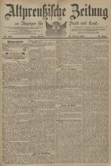 Altpreussische Zeitung, Nr. 249 Freitag 24 Oktober 1890, 42. Jahrgang