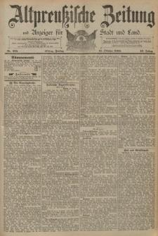 Altpreussische Zeitung, Nr. 255 Freitag 31 Oktober 1890, 42. Jahrgang