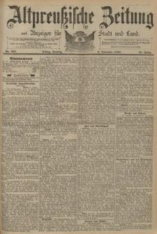 Altpreussische Zeitung, Nr. 257 Sonntag 2 November 1890, 42. Jahrgang