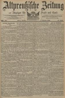 Altpreussische Zeitung, Nr. 258 Dienstag 4 November 1890, 42. Jahrgang