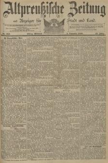 Altpreussische Zeitung, Nr. 259 Mittwoch 5 November 1890, 42. Jahrgang
