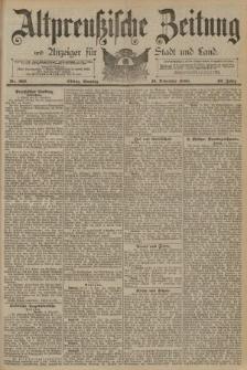 Altpreussische Zeitung, Nr. 269 Sonntag 16 November 1890, 42. Jahrgang