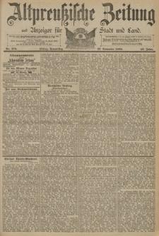 Altpreussische Zeitung, Nr. 278 Donnerstag 27 November 1890, 42. Jahrgang
