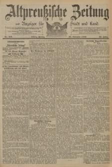Altpreussische Zeitung, Nr. 279 Freitag 28 November 1890, 42. Jahrgang