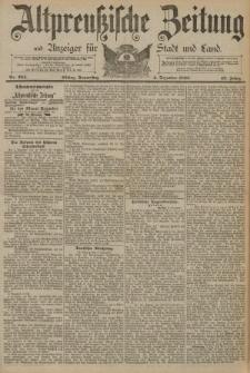 Altpreussische Zeitung, Nr. 284 Donnerstag 4 Dezember 1890, 42. Jahrgang