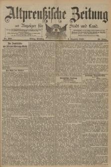Altpreussische Zeitung, Nr. 288 Dienstag 9 Dezember 1890, 42. Jahrgang