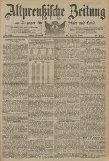 Altpreussische Zeitung, Nr. 295 Mittwoch 17 Dezember 1890, 42. Jahrgang