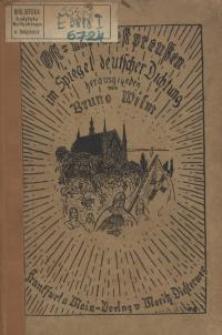 Ost- und Westpreussen im Spiegel deutscher Dichtung