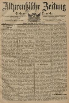 Altpreussische Zeitung, Nr. 4 Donnerstag 6 Januar 1898, 50. Jahrgang